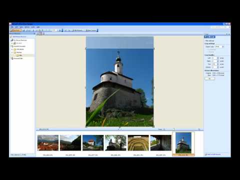 Microsoft Office Picture Manager - Obrezovanje slik