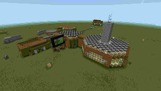 getlinkyoutube.com-Обзор Моего Механического Дома в Minecraft pe 0.13.0 : 2 серия