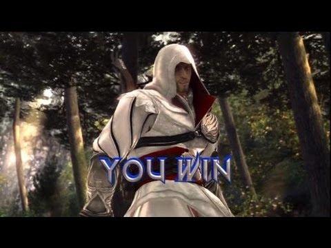 Ezio Vs Viola (Soulcalibur 5)