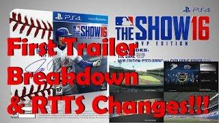 getlinkyoutube.com-MLB The Show 16 First Trailer & RTTS Changes!!!
