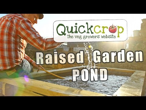 Raised Garden Ponds