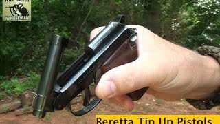getlinkyoutube.com-Beretta Tip Up Barrel Pistols : Mouse Guns