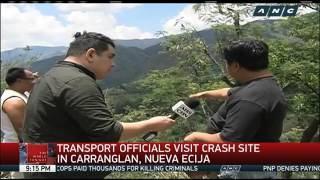 What investigators uncovered in Carranglan crash site