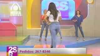 getlinkyoutube.com-Viviana Rivasplata. nueva coleccion de Jeans