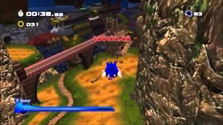 getlinkyoutube.com-Sonic Generations Mod: SA2 Mod in Sonic Adventure Generations.