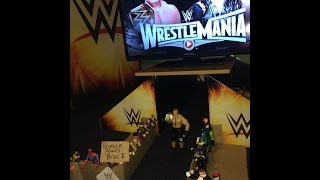 getlinkyoutube.com-Messier Mania 2015 (Father & Son PRE-Create WrestleMania 31 w/ toys)