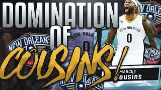 NBA 2K17 MYTEAM DIAMOND DEMARCUS COUSINS! THE ULTIMATE CENTER!