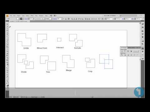 How to Join, Split, Crop (and More) an Object/ Path/ Shape in Adobe Illustrator. (Part 2)