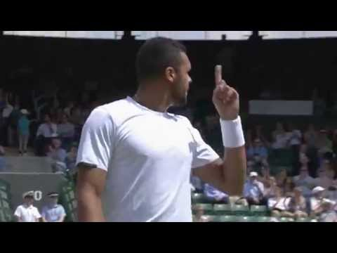 Tsonga finishes Melzer in double-quick time - Wimbledon 2014