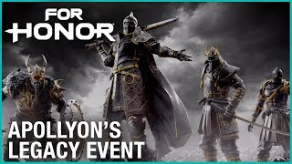 FOR HONOR - Apollyon's Legacy Event Trailer
