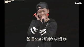 getlinkyoutube.com-iKON(아이콘) BOBBY와 김밥의 갭 (김지원[바비] 입덕영상) (자막)
