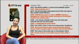 getlinkyoutube.com-Jutta mustassa tissitopissa (Mtv3 deitti)