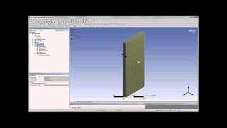 getlinkyoutube.com-ANSYS Two Way Fluid Structure Interaction Part 1