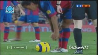 getlinkyoutube.com-Ronaldinho vs Real Madrid 2004/2005