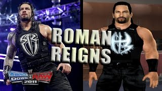 How to create Roman Reigns in SvR 2011 PS2