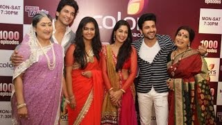 getlinkyoutube.com-Sasural Simar Ka' team parties on completion of 1000 episodes the club