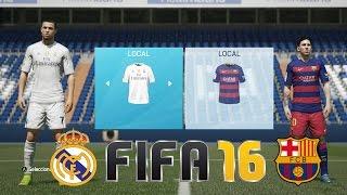 getlinkyoutube.com-REAL MADRID vs BARCELONA - FIFA 16 Gameplay