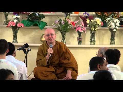 Meditation retreat with Ajahn Brahm Day 1 Instructions on meditation Toronto 2012