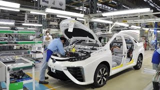 getlinkyoutube.com-Toyota Mirai Production