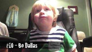 getlinkyoutube.com-Two-Year-Old Names 20 WWE Themes in TWO MINUTES!!