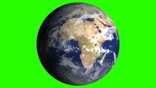 getlinkyoutube.com-earth animated green screen free royalty footage
