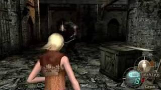 getlinkyoutube.com-【リョナ】バイオハザード(Resident Evil4)女キャラ死亡グロ☆シーン集 Parn 1