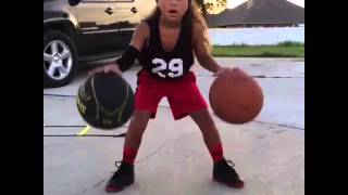 getlinkyoutube.com-6 YEAR OLD GIRL IS THE NEXT STEPH CURRY!   Shot Science Basketball  Facebook