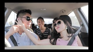 #BukanNebengBoy - Boy William & Ayu Ting Ting Honeymoon di dalam Mobil?