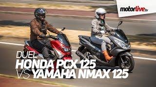 getlinkyoutube.com-DUEL | YAMAHA N-MAX vs HONDA PCX