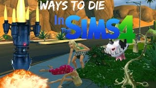 getlinkyoutube.com-Ways To Die: In The Sims 4 (All Sims 4 Deaths)