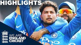 Kuldeep & Rohit Dominate England | England v India 1st ODI 2018 - Highlights width=