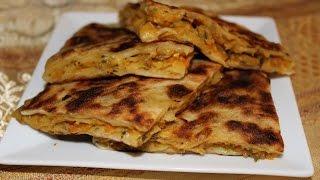getlinkyoutube.com-Rghaif marocaine aux legumes...رغايف بالخضر بالتفاصيل روعة