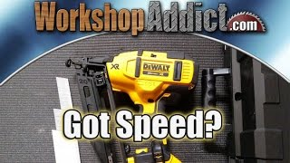 getlinkyoutube.com-Dewalt DCN660D1 20V 16ga Cordless Finish Nailer Review