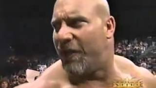 getlinkyoutube.com-Goldberg  vs Booker T