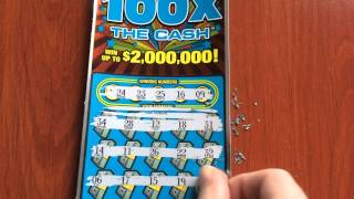 100X the Cash - Instant Ticket - 8/16/15