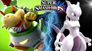 getlinkyoutube.com-Super Smash Bros Wii U BOWSER JR Trailer, MEWTWO, Ridley & More