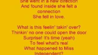 getlinkyoutube.com-Miss Independent Lyrics By Kelly Clarkson