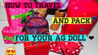 getlinkyoutube.com-How To Travel and Pack For Your American Girl Doll