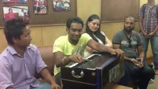 getlinkyoutube.com-Master Saleem With His Disciple During Recording