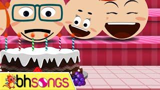 getlinkyoutube.com-Happy Birthday Song lyrics with lead vocal | Family Style | Ultra HD 4K Music Video