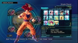 getlinkyoutube.com-Dragon Ball Z Battle of Z - All Characters List
