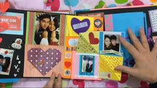 getlinkyoutube.com-DIY Valentine's Day Scrapbook