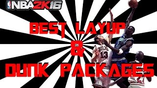 getlinkyoutube.com-Nba2k16 Tips | Best Layup and Dunk Packages | My Park, Pro Am, My Career