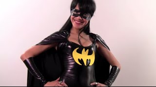 getlinkyoutube.com-How to Make a Batgirl Costume