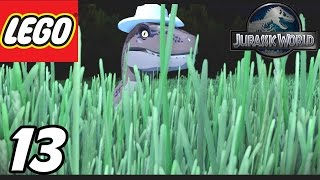 "getlinkyoutube.com-LEGO Jurassic World - Part 13 ""Hunted in the Long Grass!"" (Gameplay Walkthrough 1080p)"