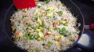 getlinkyoutube.com-Chinese Chicken Fried Rice Video - Restaurant style by (HUMA IN THE KITCHEN)