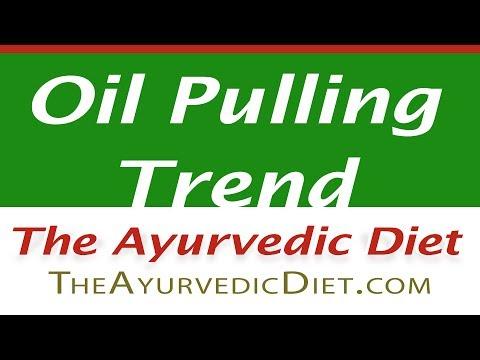 Oil Pulling Trend in Ayurveda