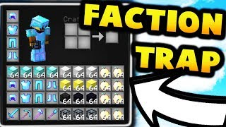 getlinkyoutube.com-Minecraft Factions - How To Get OVERPOWERED In Factions! (1.8) (Epic PvP Trap)