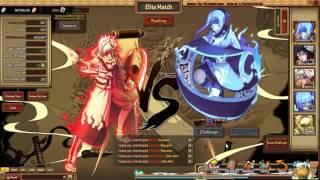 getlinkyoutube.com-Unlimited Ninja Elite Matches 219 - Toneri's debut
