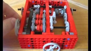 getlinkyoutube.com-LEGO Tank Transmission